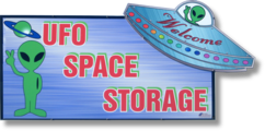 UFO Self Storage logo